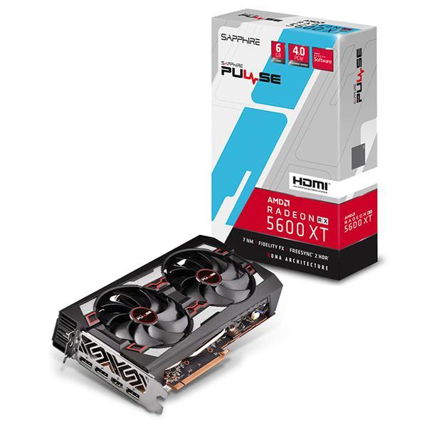 Placa de Video Sapphire PULSE RX 5600 XT 6GB GDDR6