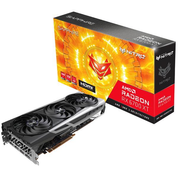 Placa de Video AMD RADEON Sapphire NITRO 6700 XT Gaming OC 12GB GDDR6
