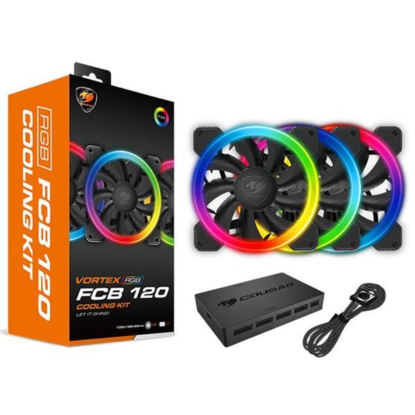 Fan Cougar Vortex FCB 120 RGB Kit x 3