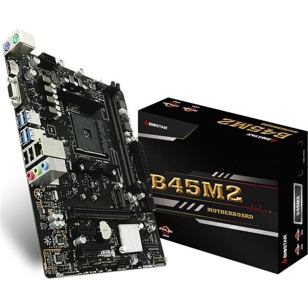 Motherboard Biostar B350 B45M2 AM4