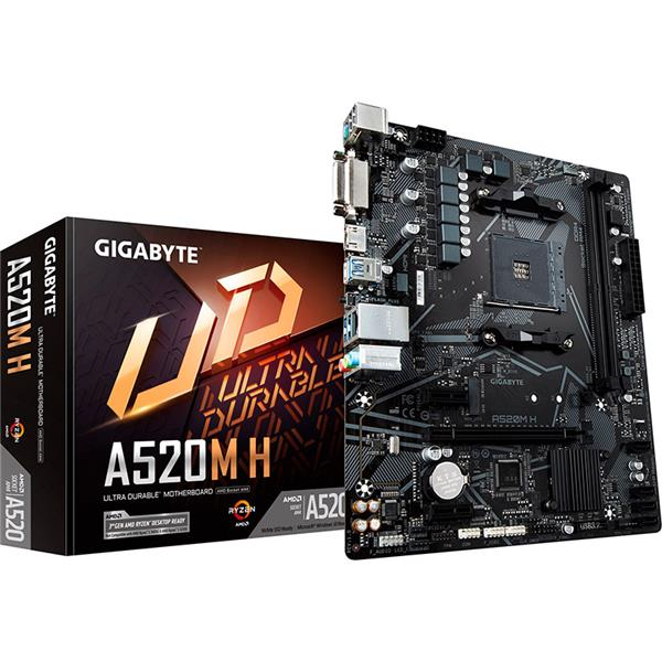 Motherboard Gigabyte A520M H AM4