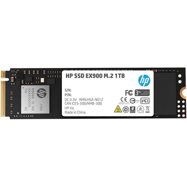 Disco Solido SSD 1TB HP EX900 M.2 NVMe PCIe x4 3.0