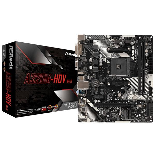 Mother Asrock (AM4) A320M - HDV (R4.0)