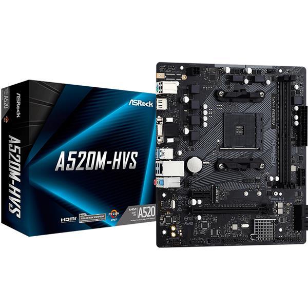 Motherboard Asrock A520M HVS AM4