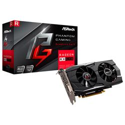 Placa de Video Asrock Rx570 Phantom Gaming D 4Gb OC GDDR5