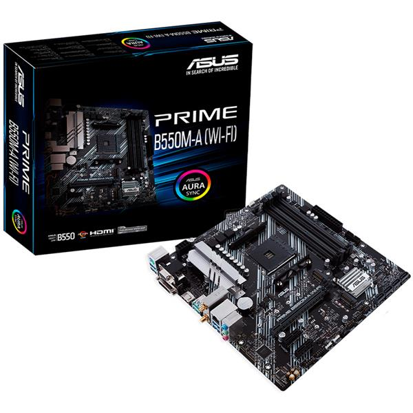 Motherboard Asus B550M - A (WI FI)
