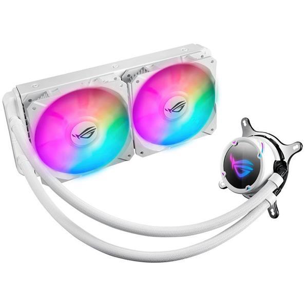 CPU Water Cooler ASUS Rog Strix Lc 240 RGB White