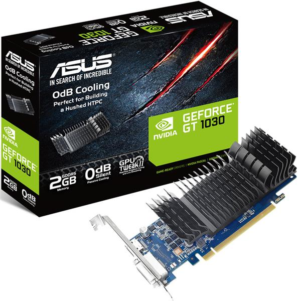 Placa de Video Asus Nvidia Geforce GT 1030 LP 2GB GDDR5