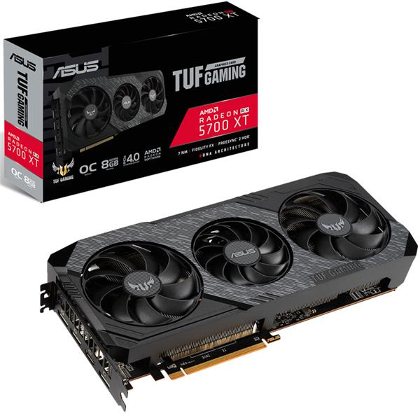 Placa de Video Asus Radeon Rx 5700 XT TUF 3 GAMING