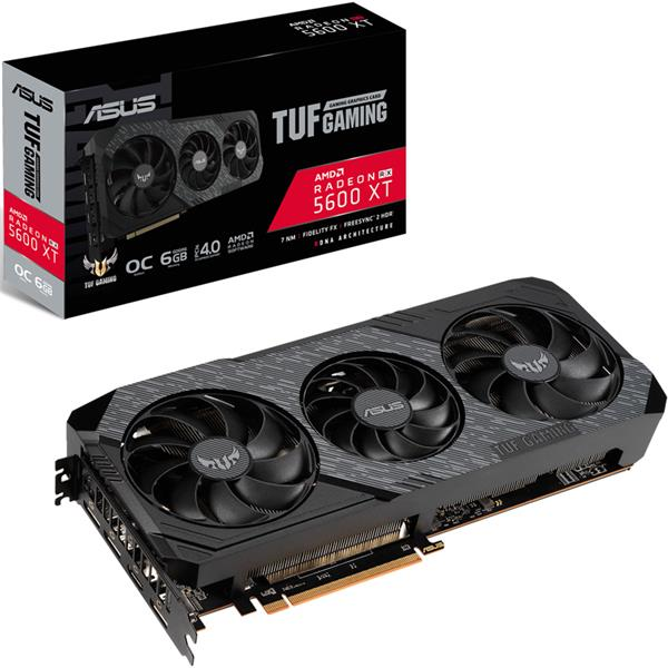 Placa de Video Asus AMD Radeon RX 5600 XT TUF EVO