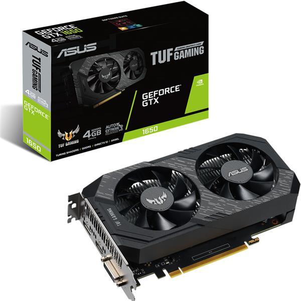 Placa de Video Asus Nvidia Geforce GTX 1650 TUF OC 4GB GDDR6