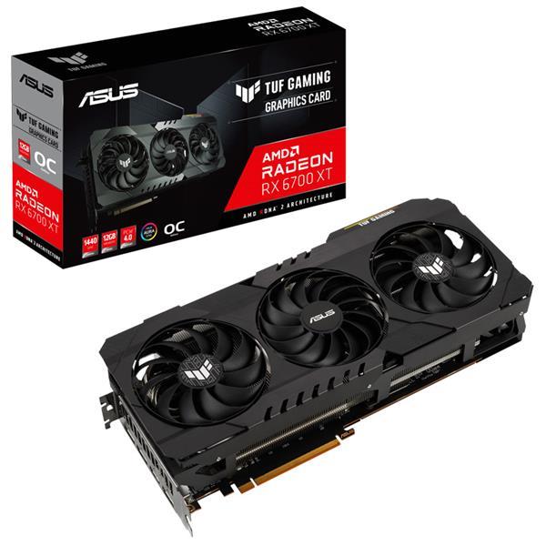 Placa de Video Asus TUF GAMING RX 6700XT 12GB OC GDDR6