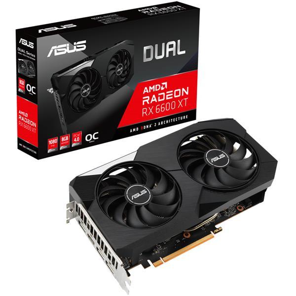 Placa de Video ASUS Dual Radeon RX 6600 XT OC 8GB GDDR6