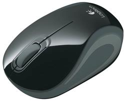 MOUSE LOGITECH WIR MINI M187 BLUE BLISTER