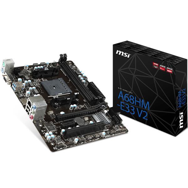 Motherboard Msi A68M E33 V2 FM2