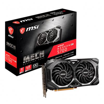 Placa de Video MSI Radeon RX 5700 MECH OC 8GB GDDR