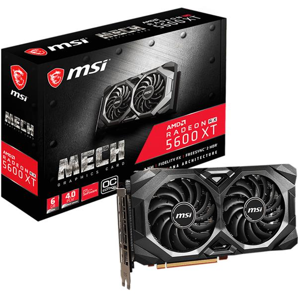 Placa de Video MSI Rx 5600 XT MECH OC 6GB GDDR6
