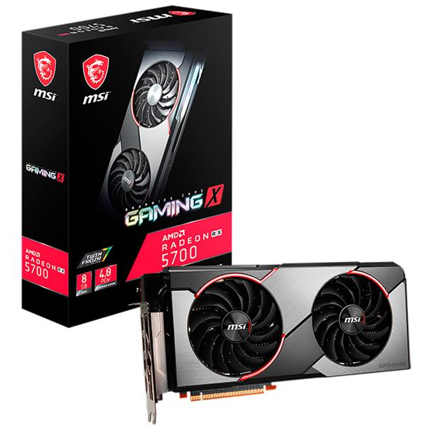 Placa de Video MSI Radeon  Radeon RX 5700 Gaming X