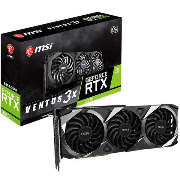 Placa de Video MSI GeForce RTX 3070 VENTUS 3X OC BV