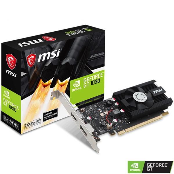 Placa de Video MSI GT 1030 LP 2GB OC DDR4