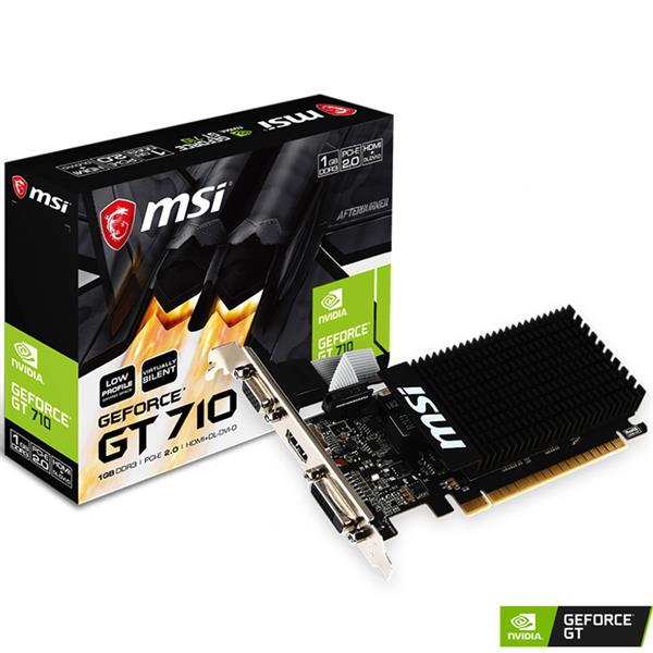 Placa de Video MSI GT 710 LP 1GB DDR3