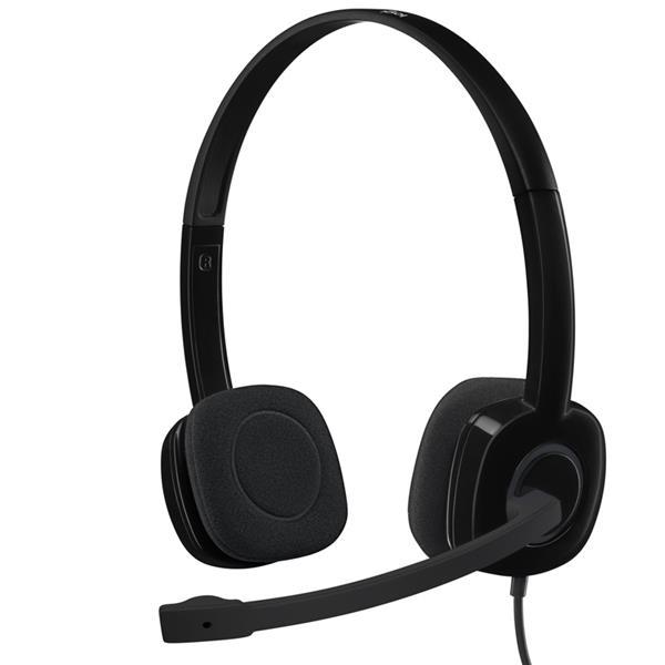 Auricular Logitech H151 Black con Microfono