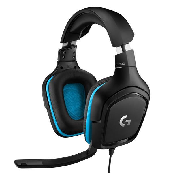 Auricular c/mic Logitech G432 7.1 Black