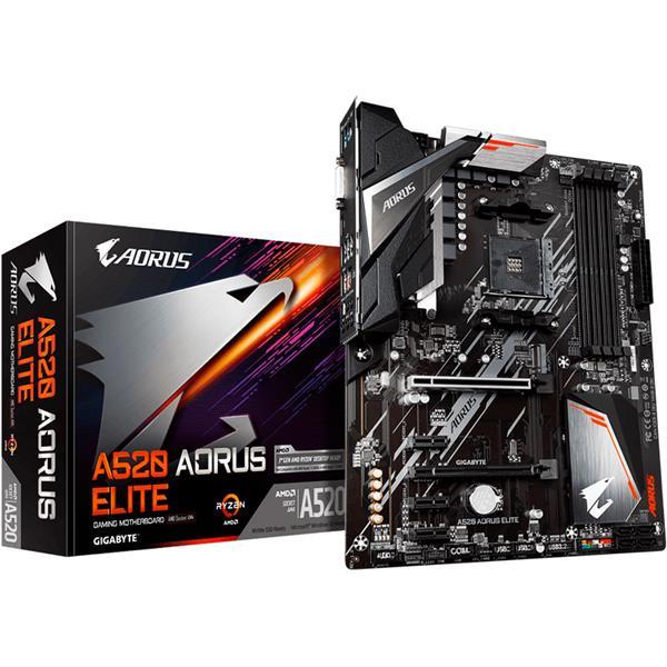 Motherboard Gigabyte A520 Aorus Elite AM4