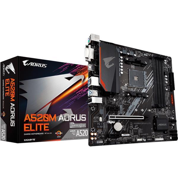 Motherboard Gigabyte A520M Aorus Elite AM4