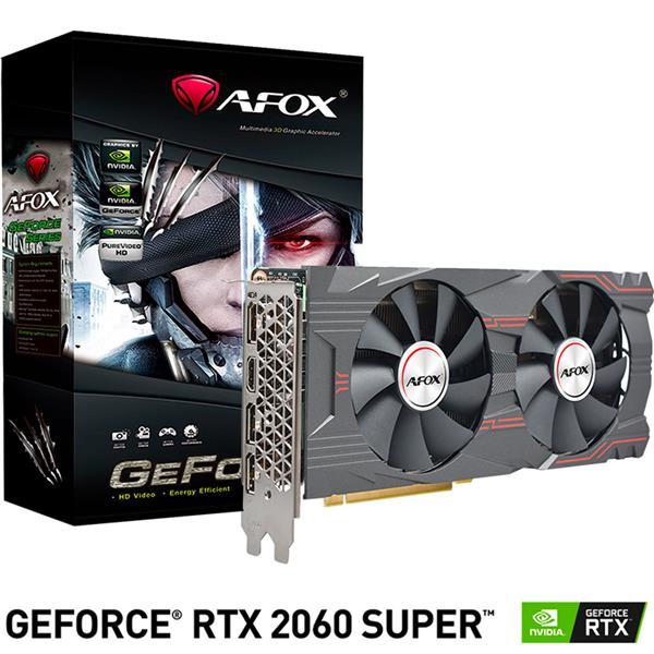 PLACA DE VIDEO AFOX NVIDIA GEFORCE RTX 2060 SUPER 8GB GDDR6