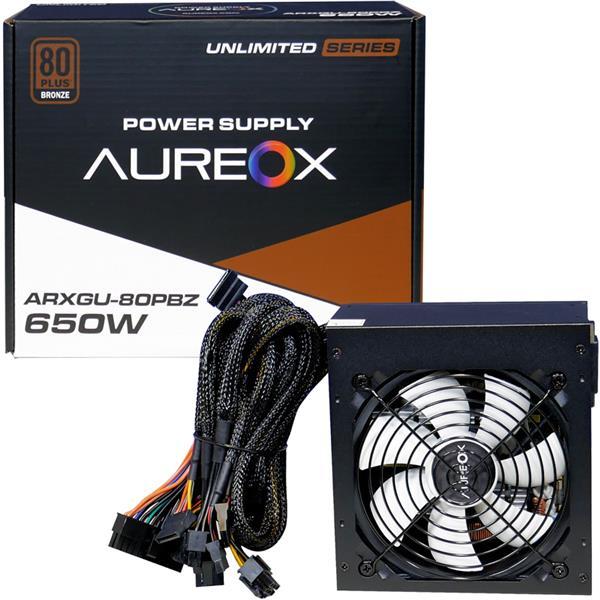Fuente 650W Aureox ARXGU 80 PLUS Bronze