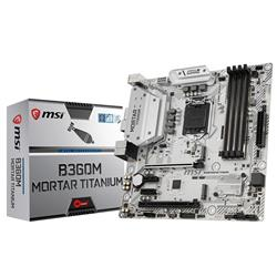 Mother MSI (1151) B360M Mortar Titanium 8va Gen Ddr4