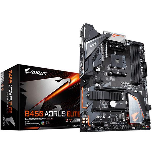 Motherboard Gigabyte B450 Aorus Elite AM4