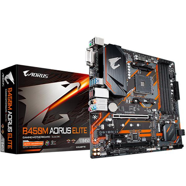 Motherboard Gigabyte B450M Aorus Elite AM4