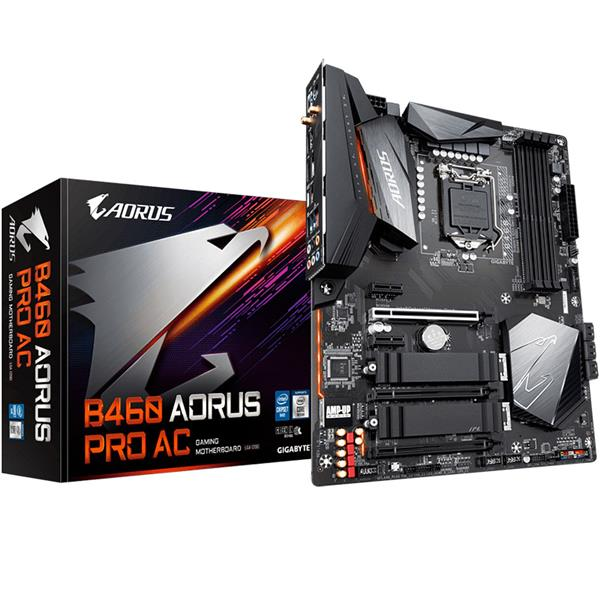 Motherboard Gigabyte B460 Aorus Pro AC 1200