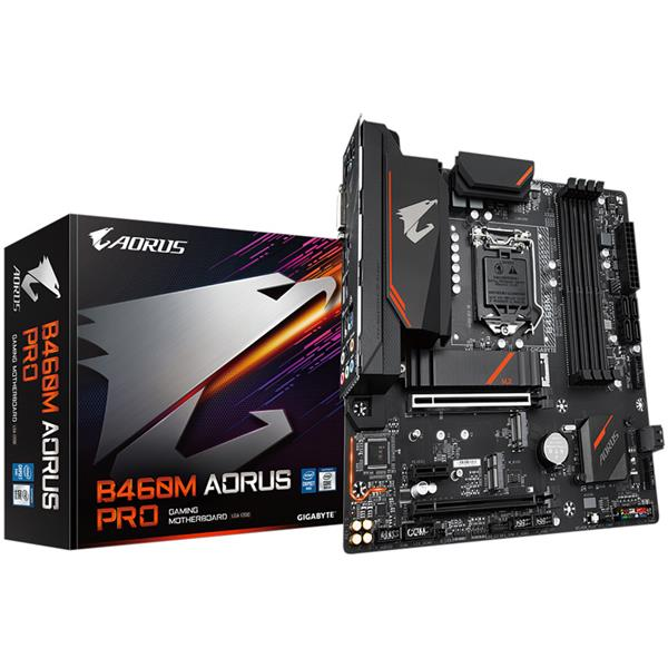 Motherboard Gigabyte B460M Aorus Pro AC 1200