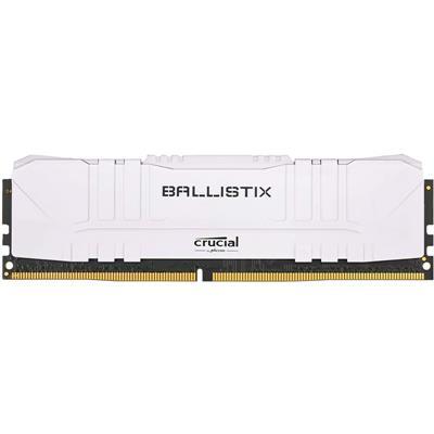 Memoria Ram Crucial Ballistix White 8GB 3200 Mhz DDR4 (BULK)