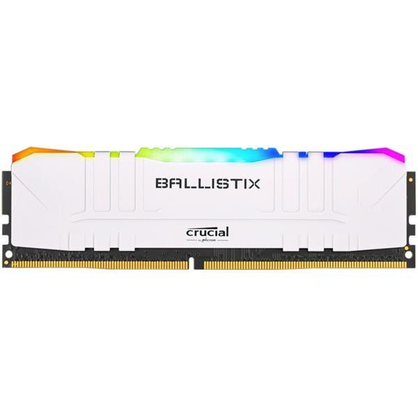 Memoria Ram Crucial Ballistix White RGB 8GB 3600 Mhz DDR4