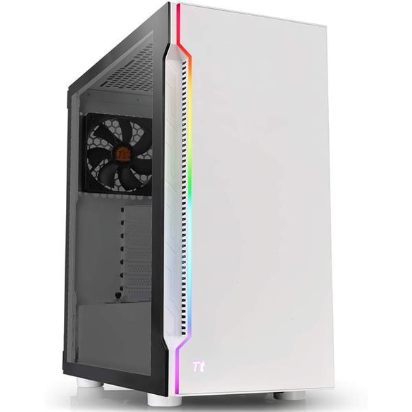 Gabinete Thermal TT H200 SNOW RGB Tempered Glass