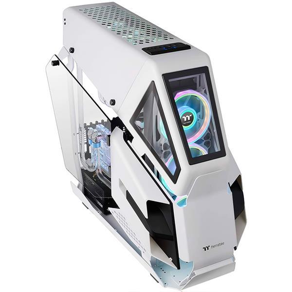 Gabinete Thermaltake AH T600 Tempered Glass Snow White
