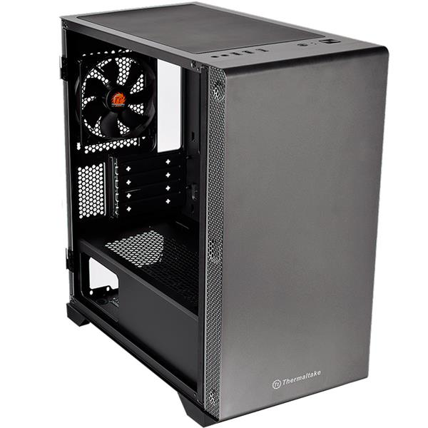 Gabinete Thermaltake S100 Black Tempered Glass