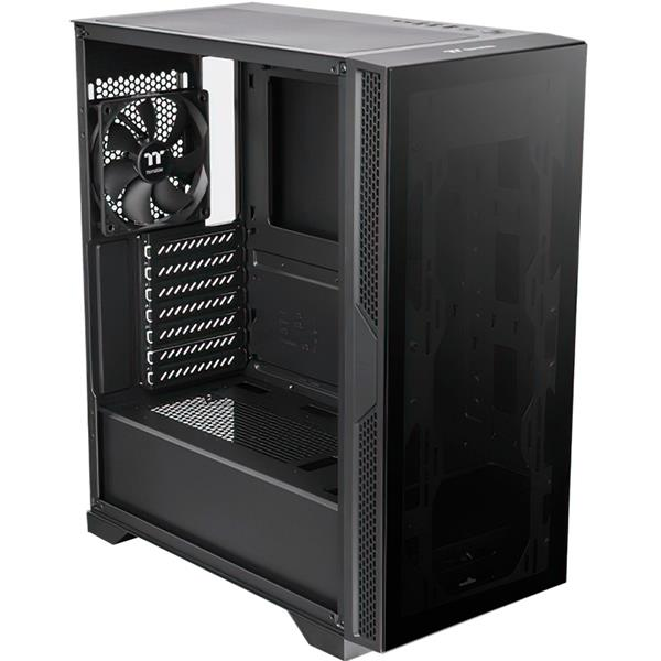 Gabinete Thermaltake Versa T25 Tempered Glass Black