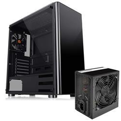 Gabinete Thermal TT V200 TG + Fuente 500W LitePower C/Fan