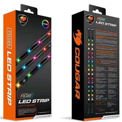 Tira LED Cougar RGB (2 unidades)