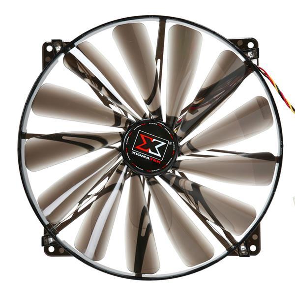 Fan Xigmatek 200mm XLF-F2004 (Black Leaf)