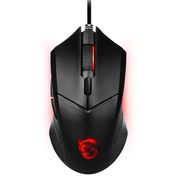 Mouse MSI CLUTCH GM08 LED Rojo