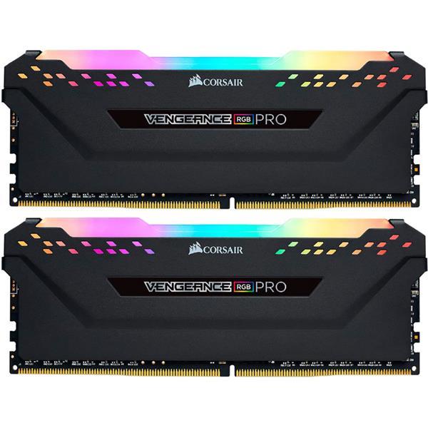 Memoria Ram Corsair Vengeance RGB Pro Black 16GB (2x8GB) 3600 Mhz DDR4