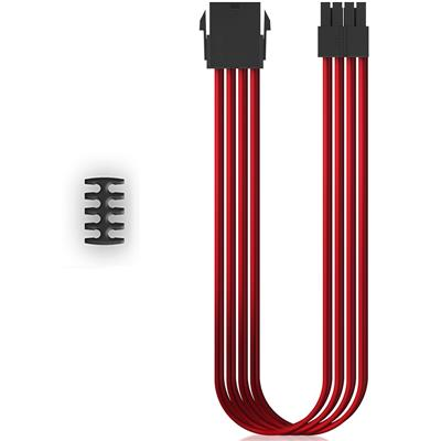 Cable Mallado Extensor Deep Cool EC300-CPU8P-RD