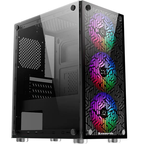 Gabinete Xigmatek NYX 3F ARGB Fan Version
