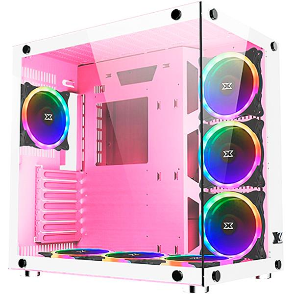 Gabinete Xigmatek Aquarius Plus Queen 7x cooler Argb